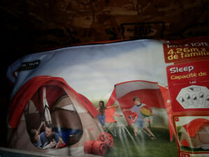 Tent for sale 6 person  8 PC family combo pack.