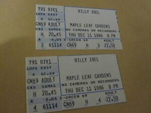 Billy Joel Tickets 1986