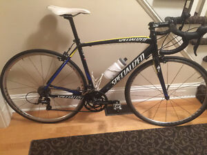 2014 Specialized Allez 54 cm, Upgraded Wheelset