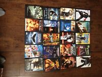 For sale lot of 66 DVDs