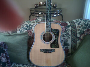 BEAUTIFUL  HANDCRAFTED  GUITAR   to  SWAP or  TRADE