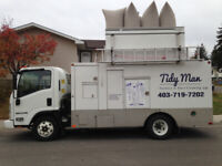 Tidy man furnace & duct cleaning special $99.95