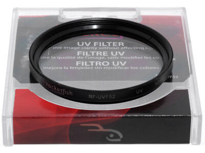 52mm. filtro RF UV Rocketfish. Ultra Violet filter.