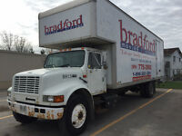 Moving truck, straight truck for sale