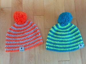 Winter hats / toques.