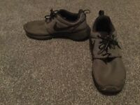 Nike black and grey trainers