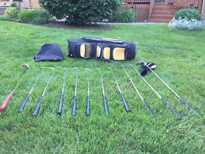 Right Handed Adult Golf Club Set (with bag) - $50.00