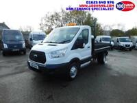 FORD TRANSIT 2.2TDCI 100PS T350 TIPPER SINGLE CAB WITH LOVELY LOW MILES