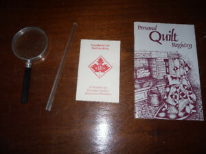 quilting and sewing items - tools, scissors, and more