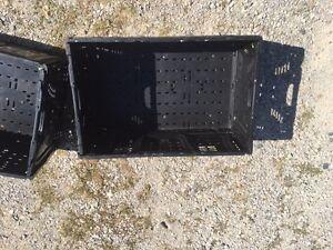 Black Storage Crates London Ontario image 2
