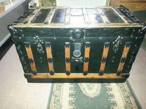 Antique 100 + year old Trunk