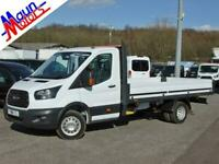 """2018 """"68"""" Ford Transit T350 TDCi 130PS 13ft 10in DROPSIDE, Euro 6, DRW, 1 Owner"""