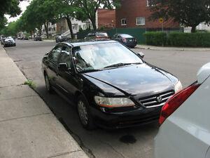 2002 Honda Accord Familiale