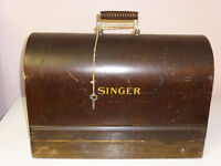 Antique Portable Singer Sewing Machine
