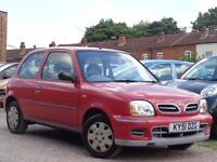 Nissan Micra 2001 1.0 16v S***LOW MILES 34K + £1000 WORTH OF INVOICES***