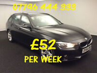 £223.01 PER MONTH 2014 BMW 318 2.0TD SPORT GT DIESEL MANUAL WITH NAV