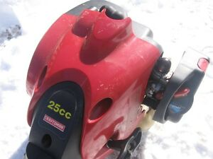 "CRAFTSMAN 25CC STRAIGHT SHAFT ""GREAT"" GAS TRIMMER."