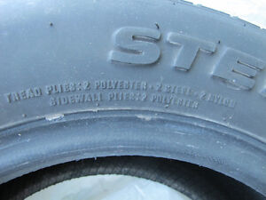 2 @ SX 9000 HR RADIAL TIRES ( $ Negotiable) West Island Greater Montréal image 4