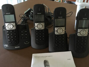 Philips Digital Cordless Telephone set with answering system