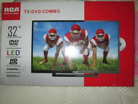 BRAND NEW SEALED BOX RCA 32 IN LED HDTV/DVD COMBO 3 HDMI