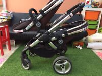 Double tandem pushchair -iCandy peach blossom