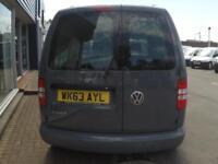 2013 Volkswagen CADDY C20 1.6 TDI S/LINE Van *PURE GREY* Manual Small Van
