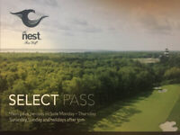 The ´Nest´ Golf Passes - $100 each or best offer