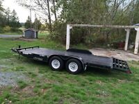 SOLD !!!!!!!! 18ft tilt deck