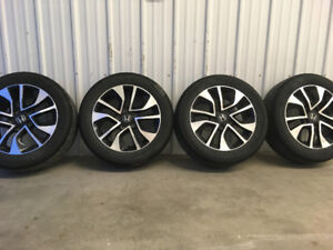 Civic wheels and tires  205 55 16