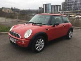 2003 MINI HATCH ONE HATCHBACK PETROL