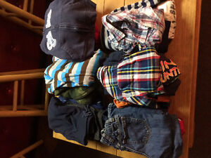 Gently Used Assorted 2T Boys Cloths