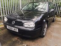 VW GOLF 3drs 1.8 Gti Black 165k- No Mot - but still drives - has 11 service stamps in the book ONO