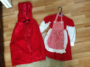 Custom made Little Red Riding Hood costume
