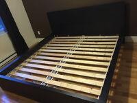Lit King Malm Haut - High King Malm Bed Frame