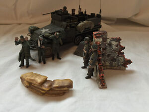 "Forces Of Valor ""WWII US M3A1 Half Track """