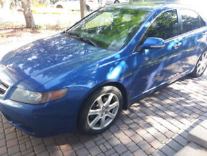 Acura TSX 2005 for sale as is