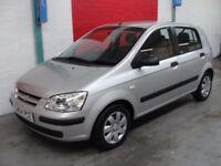 Hyundai Getz 1.3 GSI (silver) 2004