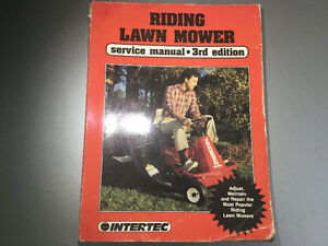 Riding Lawnmower Manual Case IH Massey Snapper Allis-Chalmers