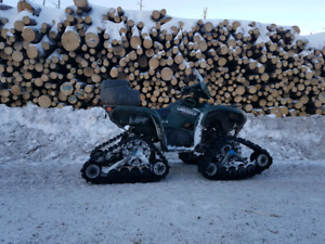 2008 yamaha grizzly 700 with tracks