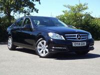 Mercedes-Benz C220 2.1CDI ( 168bhp ) Blue F 2013MY CDI Executive SE Satnav.