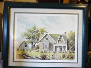 Rustic Country House by Art Legiehn Signed Artist Proof