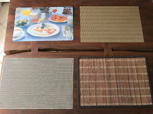 Place mats - assorted styles