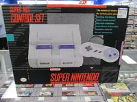 Complete Boxed SNES - $149.95