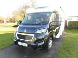 Bailey Approach Autograph 740 luxury 64-plate 4-berth motorhome Oxford