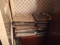 Hundreds of old records job lot