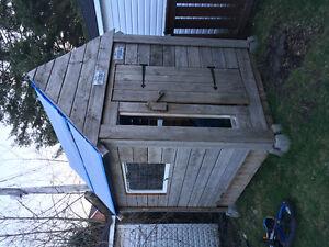 Cabane de bois/wood