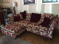 Two luxury, large family sofas (4 seater and 2 seater)