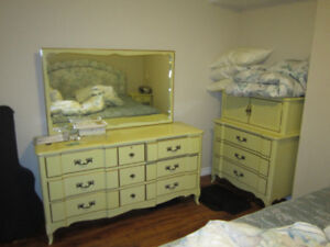 King bed and Solid wood bedroom set