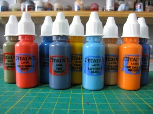 Dropper Bottle - Citadel Paint migrated to new bottle. Warhammer 40k, AoS