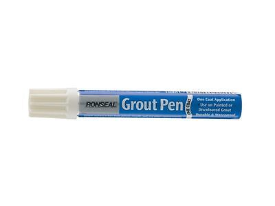 Ronseal One Coat White Grout Pen 15ml